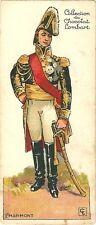 Chromo Lombart Gloire et costumes militaires 95 Marmont Empire Armée Napoléon