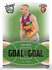 2017 Select Certified Goal To Goal (GG6) Jacl FROST Brisbane 196/285