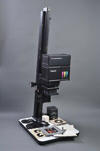 EXC++ VIVITAR VI COLOR ENLARGER, 3X NEG CARRIERS, SPARE BULB, POWER SUPPLY+++