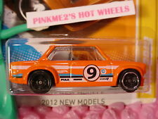 2012 #21 Nm Hot Wheels '02 Bmw 2002 �Orange; 9 �w/Factory Wheel Error�New Models