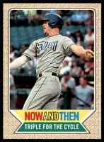 2017 TOPPS HERITAGE NOW AND THEN WIL MYERS SAN DIEGO PADRES #NT-1 INSERT