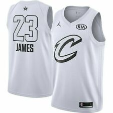 Nike Swingman Jersey LeBron James #23 AllStar NWT Sz L White/Black Nike Connect