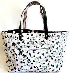 Cath Kidston Disney 101 Dalmatians Reversible Bag Large Dalmations Tote Handbag