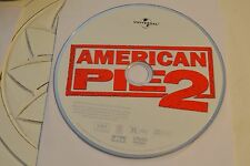 American Pie 2 (DVD, 2002, R-Rated Version Full Frame)Disc Only Free Shipping