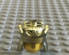 LEGO Chrome Gold Crown King Queen Knight Kingdom Princess