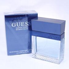 Guess Seductive Homme Blue Cologne Perfume EDT Spray 3.4 oz for Men NEW