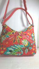 Vera Bradley New! Women's Large Vivian Pink Rumba Hobo Shoulder Strap Handbag