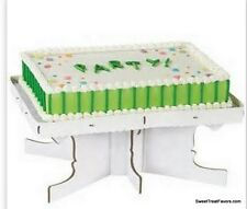 CAKE STAND RENTAGLE Wilton Decoration Display  Pedestal Cupcake Birthday 1 Tier