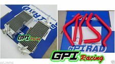 FOR kawasaki kx250 kx 250 1990 1991 1992 1993 Aluminum radiator and hose