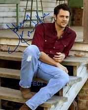 JOHNNY KNOXVILLE SIGNED PHOTO RE-PRINT JACKASS #331