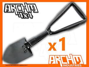 ARCHM4X4 FOLDABLE-FOLDING SHOVEL CAMPING HIKING 4X4  OUTDOOR GARDEN SPADE NEW