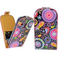 Flip Leather Card Pouch Sleeve Cover Case For Samsung Galaxy S3 III Mini i8190