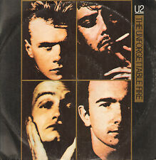 U2 - The Unforgettable Fire - 1985 Island - ISX 220 - Italy