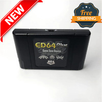 NEW EverDrive 340 in 1 Latest ED64 Plus Game Cartridge USA EUROPE N64 16GB CARD