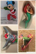 🎄🎅☃️ Disney Grolier Christmas Tree  Ornaments  -  ALL  Individually Boxed 🎄🎅