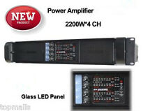 Hot Sale High Power 20,000q Stage Professional Stereo Power Amplifier 2200W*4 CH