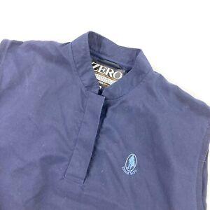 Zero Restriction Golf Women's Wind Stopper Pullover Vest Navy Blue • Medium