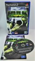 Hulk Video Game for Sony PlayStation 2 PS2 PAL TESTED