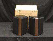 New listing *Scratch & Dent* Klipsch Rp502S Surround Speakers - Walnut | Rp-502S (Pair)