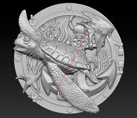 3D Model for CNC Router STL File Artcam Aspire Vcarve Wood Carving IS833