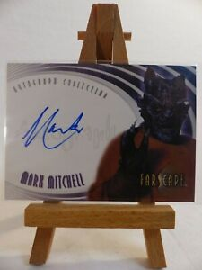 Farscape Through the Wormhole Autograph card A50 Mark Mitchell as Mu-Quillus