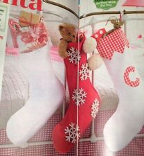 Christmas Classic Stockings, Set Of 3 Sewing Patterns
