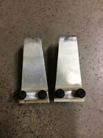 CANAM DS450 DS450X DS 450 XXC XMX CAN AM REAR PLASTIC FENDER MOUNTS SUPPORT