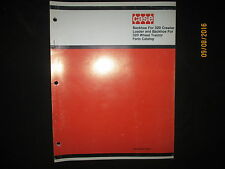 CASE Parts Catalogue Manual Backhoe For 320  Wheel Tractor & Crawler ORIGINAL