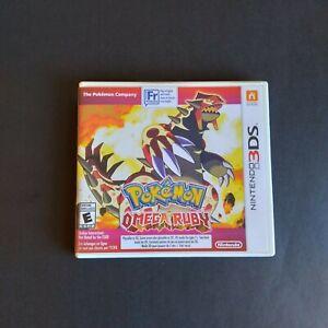 Pokemon Omega Ruby (Nintendo 3DS, 2014)