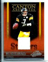2006 Playoff Absolute Canton P.W. Jersey Ben Roethlisberger Pittsburgh Steelers