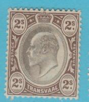 TRANSVAAL 261 MINT  HINGED  OG *  NO FAULTS EXTRA FINE