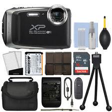 Fujifilm FinePix XP130 16.4MP Digital Camera Dark Silver Full-HD + 16GB Kit