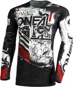 O'Neal Mayhem Jersey - MX Motocross Dirt Bike Off-Road ATV MTB Mens Gear