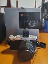 Leica x vario type 107 Argento con Viewfinder di OLYMPUS Usato