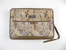 Vintage Jordache Floral Tapestry Small Suitcase Carry On