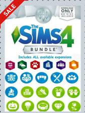 The Sims 4 + ALL Expansions Packs + Additional DLCs + Warranty + PC & MAC