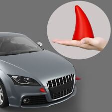 2Pcs Red Little Demon Devil Horn 3D Car Creative Sticker Decal Anti-Collision