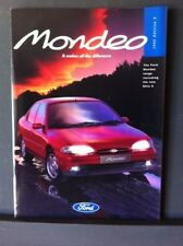 FORD MONDEO Range Catalogue 1995 Edition 2 - Introducing the NEW GHIA X version.