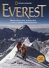 EVEREST National Geographic by Broughton Coburn & Tim Cahill Paperback BOOK Free