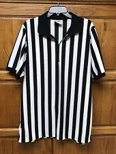 Referee Shirt Size Xl Sports Men's Or Women's Or Halloween Costume Game Craft