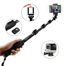 Extended Bluetooth Selfie Stick Pole for iPhone 7 Samsung S7 edge Gopro Hero 5 4