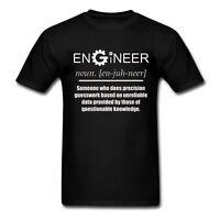 Engineer - Noun (COG Design) - Funny Novelty Job Title Mens T Shirt - Gift Joke
