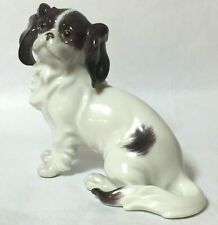 Cavalier Spaniel/Japanese Chin Made in Vienna Dog Figurine