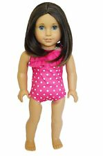 My Brittany's Pink Polka Dot Swimsuit For American Girl Dolls