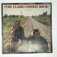 The Clash Combat Rock LP Vinyl Record First Pressing UK 1982 FMLN 2