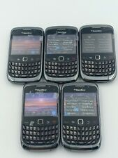 Joblot 5 Units Lot of Blackberry Curve 9300 phones - AS IS - For Repair ONLY