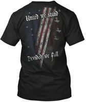 United We Stand, Divided Fall - Stand Hanes Tagless Tee T-Shirt