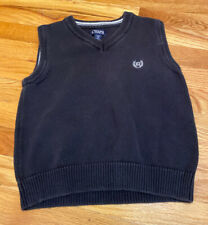 NWT CHAPS by Ralph Lauren Sweater Vest Holiday Choice Boys 3 4 5 8 10-12