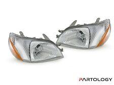 Headlights Pair For Toyota Echo Ncp12Sedan 1999-2002