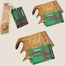 Antos Fallow Antler - Durable Dog Deer Stag Bar Marrow Tough Treat 100% Natural